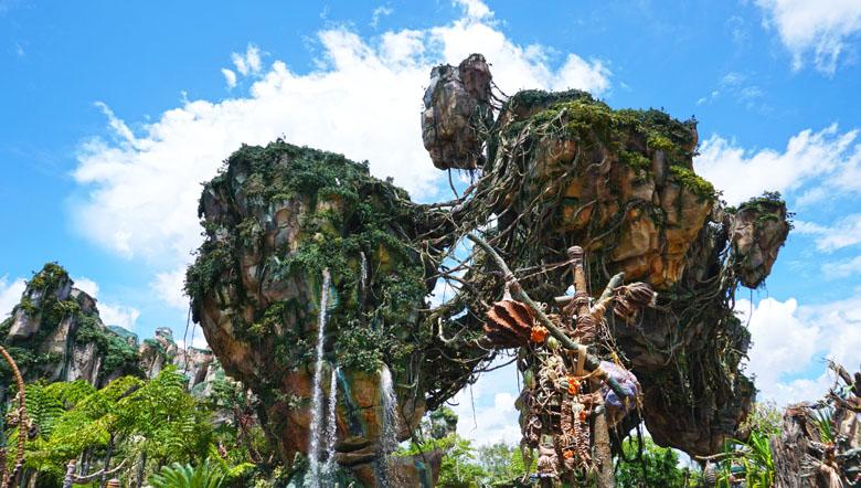 A área de Pandora faz enorme sucesso no Animal Kingdom.