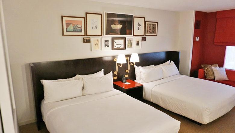 O quarto do Park MGM.