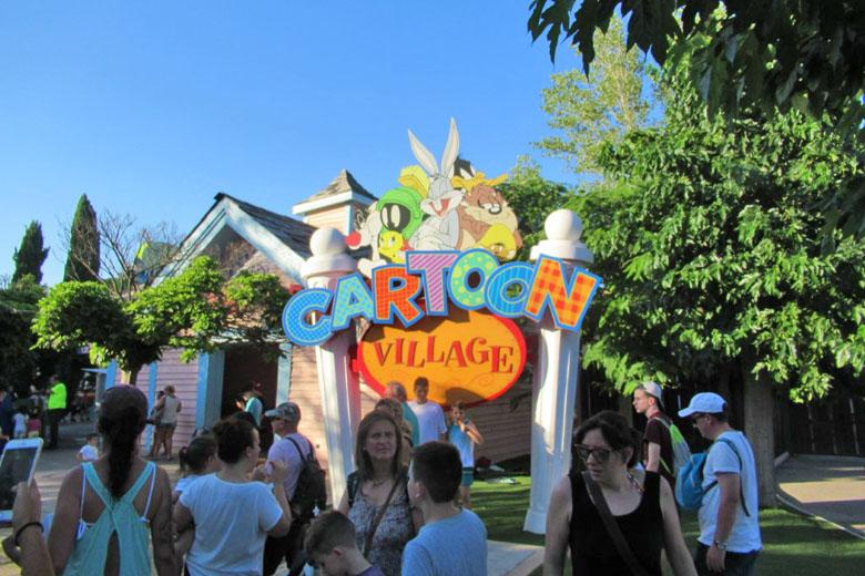 Cartoon Village: a área das crianças.