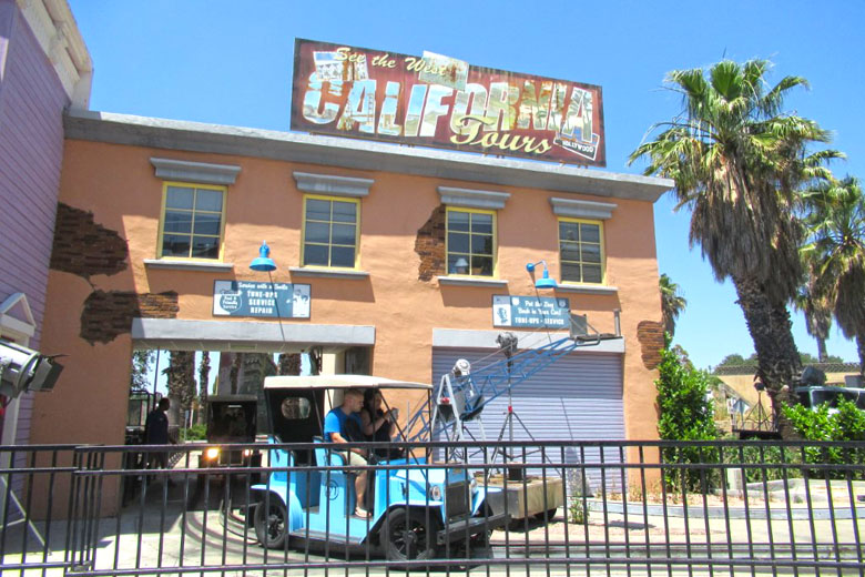 Uma das atrações de Movie World.