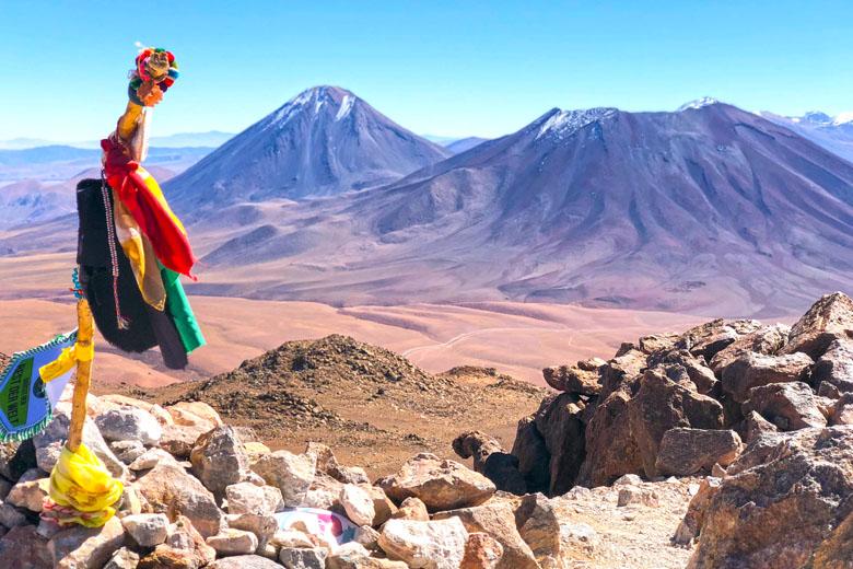 Vulcão Lascar - A vista compensa cada minuto do esforço da subida.