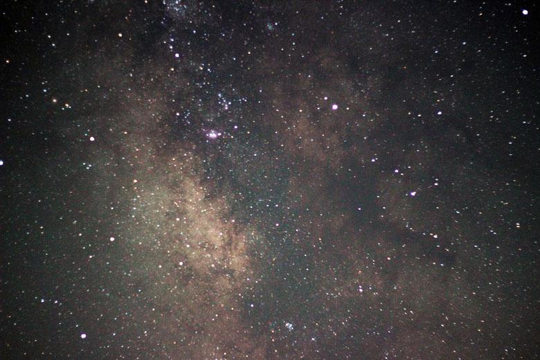 As estrelas do céu do Atacama, um dos mais belos do mundo.