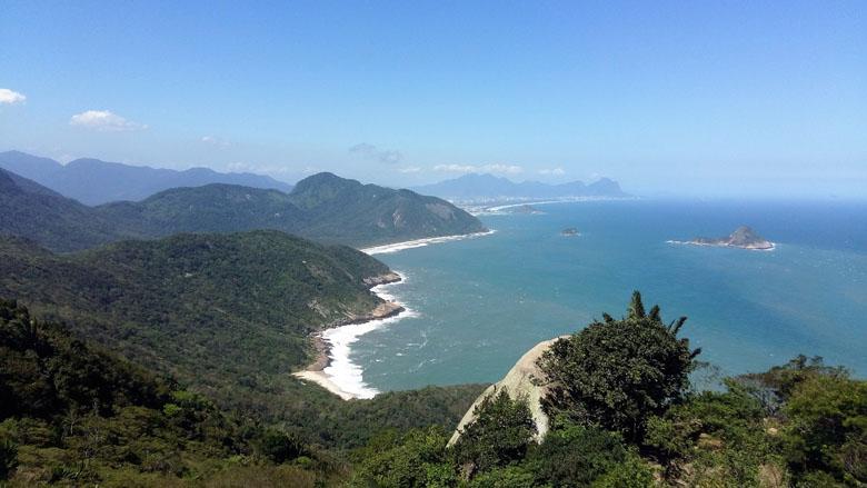 As praias de Grumari são um verdadeiro paraíso no Rio.