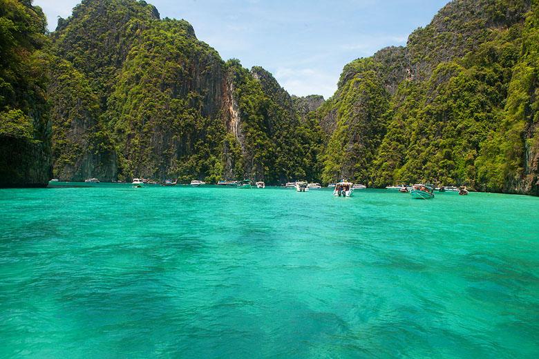 A natureza exuberante de Phuket na Tailândia.