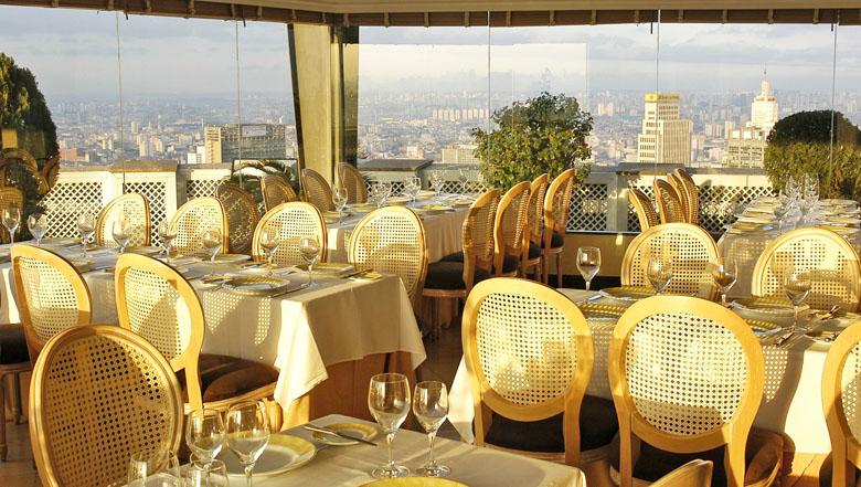 A vista do Terraço Itália é uma das mais bonitas de SP.