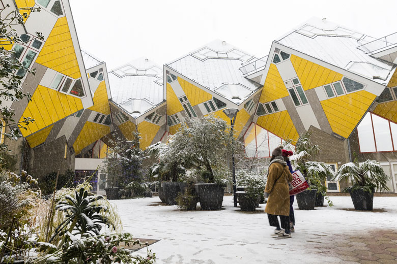 Roterdã, na Holanda, impressiona com sua arquitetura.