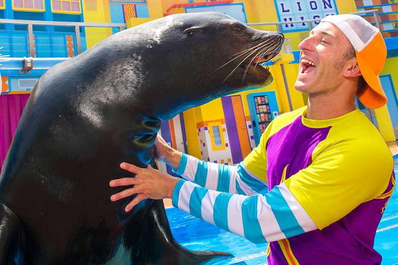 Clyde and Seamore's Sea Lion High.
