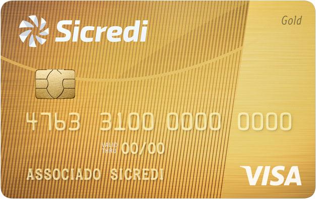 Sicredi Visa Gold.