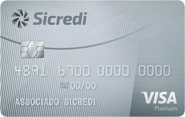 Sicredi Visa Platinum.