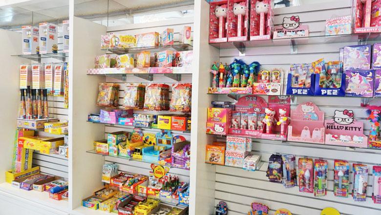 As crianças querem comprar tudo.