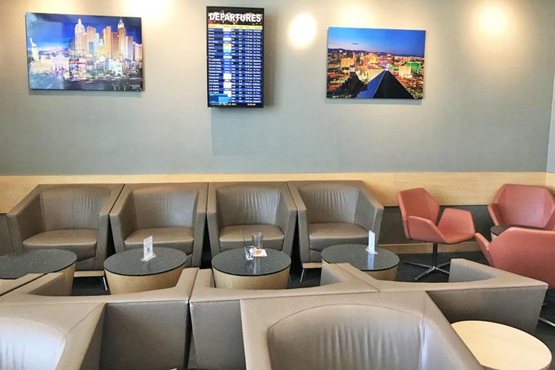 Ambiente da sala VIP.