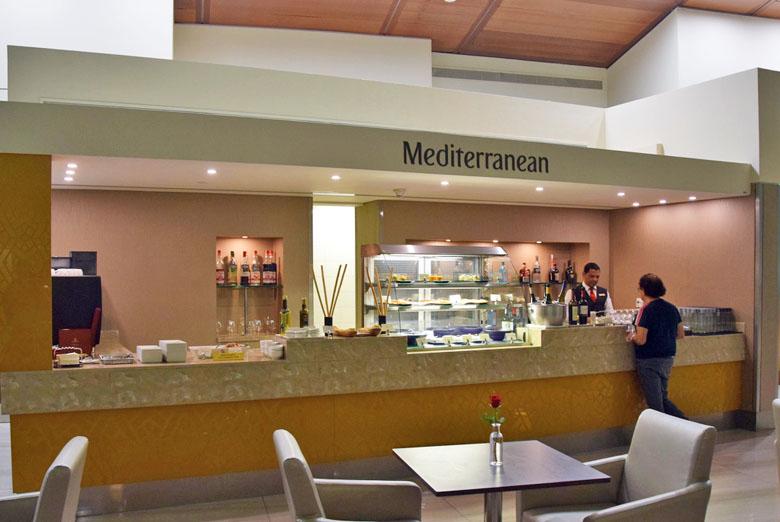 Restaurante de culinária mediterrânea