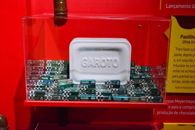 Museu da Fábrica da Garoto.