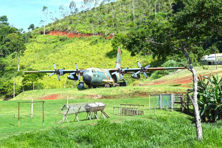 É um avião Hércules da FAB de verdade!