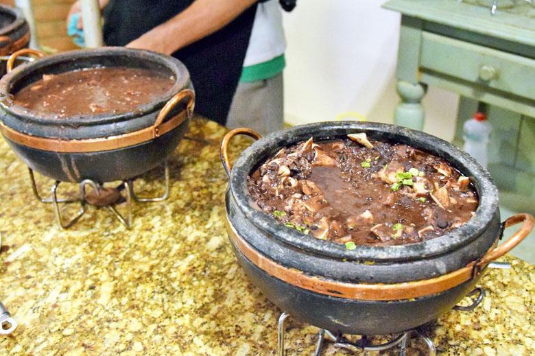 Restaurante Antúrios - feijoada