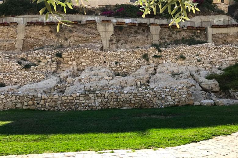 Ruínas da Cidade de David.