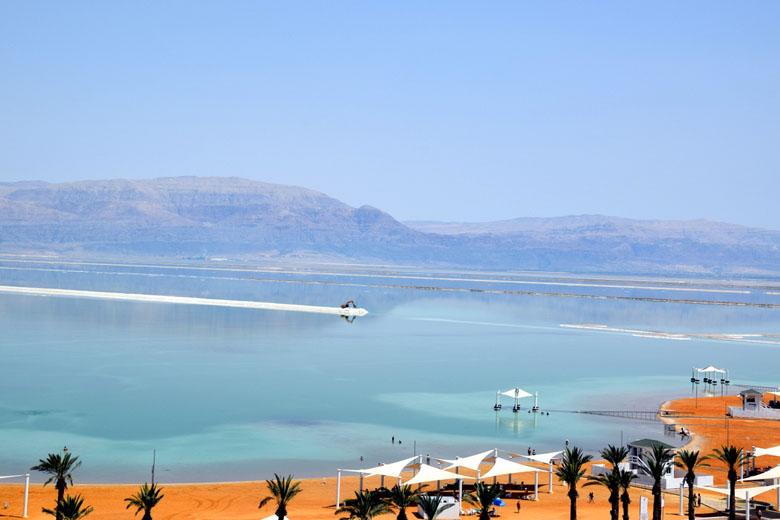Vista do Mar Morto.