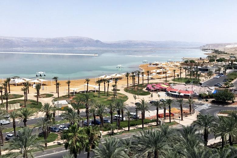 Mar Morto visto de Ein Bokek