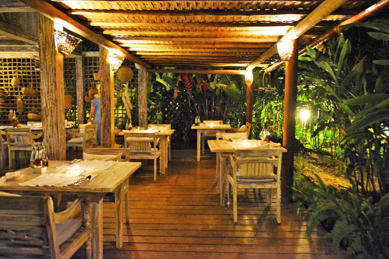 Restaurante Capim Santo.