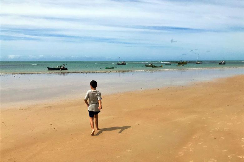 Praia dos Coqueiros em Trancoso.