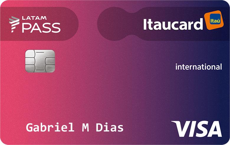 Cartao De Credito Latam Pass Itaucard Visa Internacional Falando