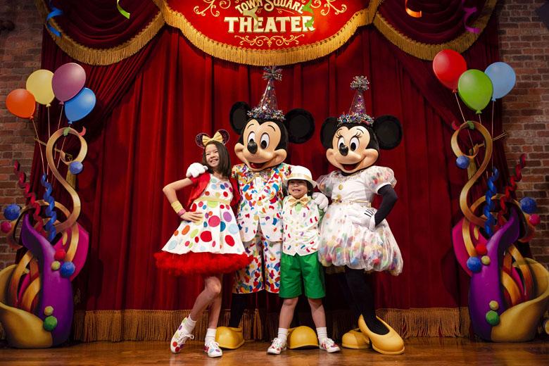 Mapa dos parques temáticos do Walt Disney World Resort