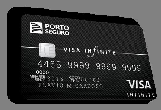 como trocar o mastercard black pelo visa infinite na porto seguro