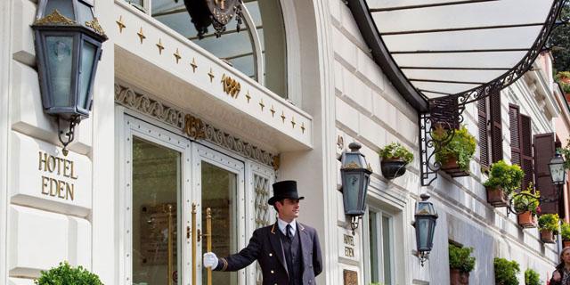 Falando de viagem la terrazza dell 39 eden o sofisticado - Hotel eden en roma ...