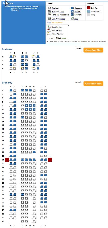 Falando De Viagem Iberia Mapas De Assentos Das Aeronaves