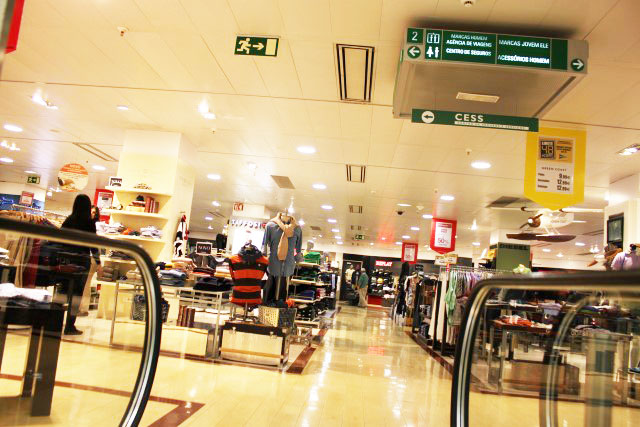 Feira Artesanato Osasco ~ Falando de Viagem El Corte Inglés Umaótima loja de