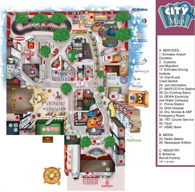 kidzania lisboa mapa KidZania: Um parque temático exclusivo para as crianças em Dubai  kidzania lisboa mapa
